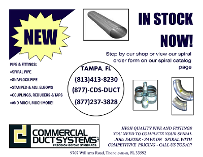 Commercial Duct Systems